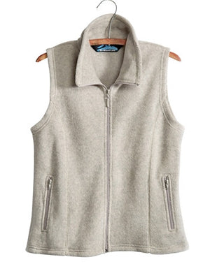Tri-Mountain Ladies Sleeveless Fleece Vest