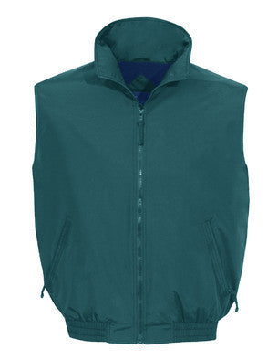 Tri-Mountain Nylon Fleece Lined Vest-1