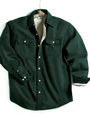 Tri-Mountain Fleece Lined Denim Shirt