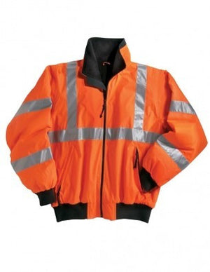Tri-Mountain Men's Ansi Compliant Reflective Jacket