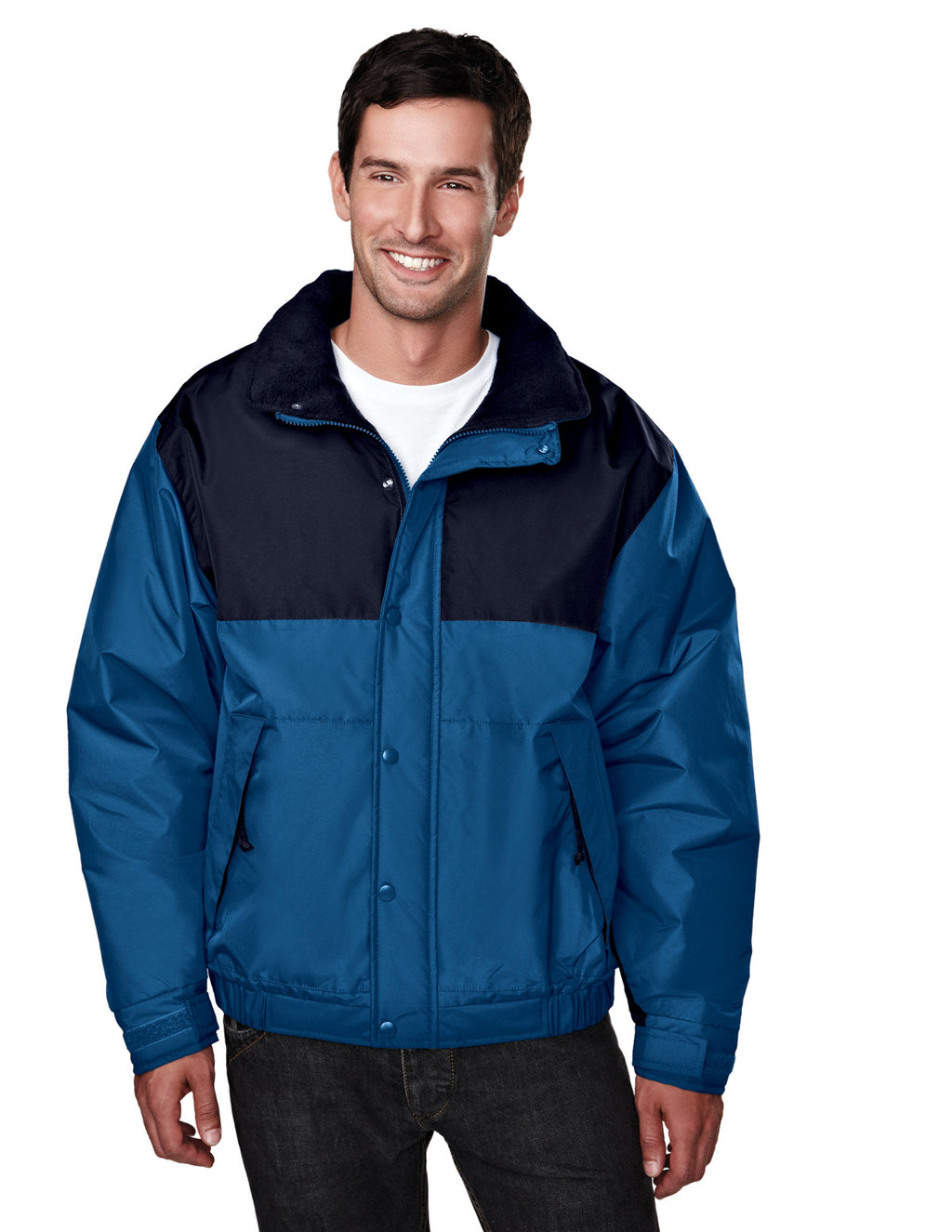 Tri-Mountain Men's Colorblock Heavy Lined Coat-1