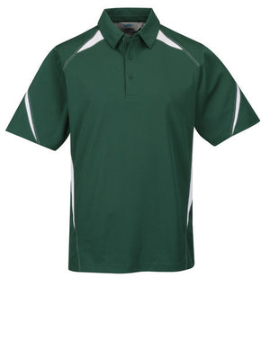 Tri-Mountain Men's 2-Tone 100% Poly Birdseye Mesh Polo