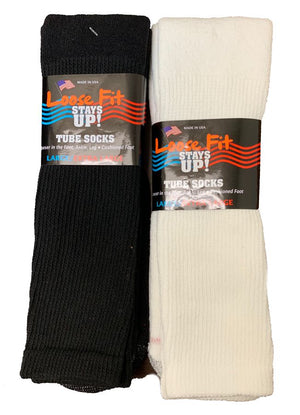 Men's Loose Fit Tube Sock King Size