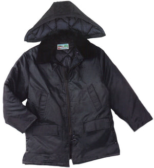 "United Pioneer 34"" Zip-Off Hood Parka With Dual Collar"
