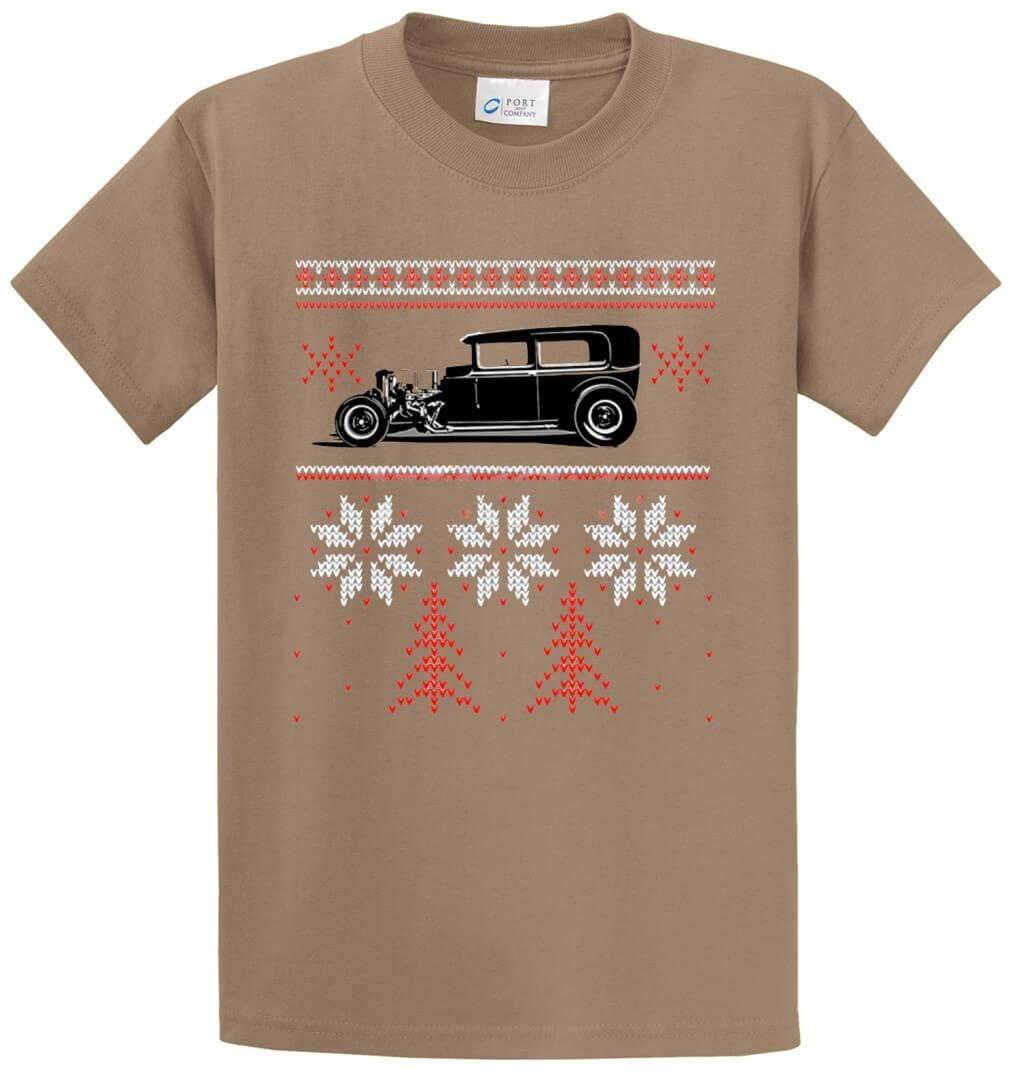 Hot Rod Sweater Printed Tee Shirt-1