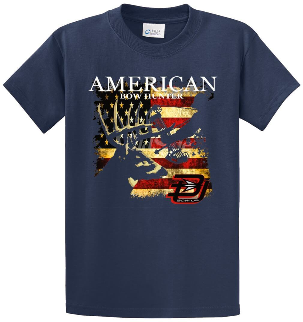 American Bow Hunter Printed Tee Shirt-1