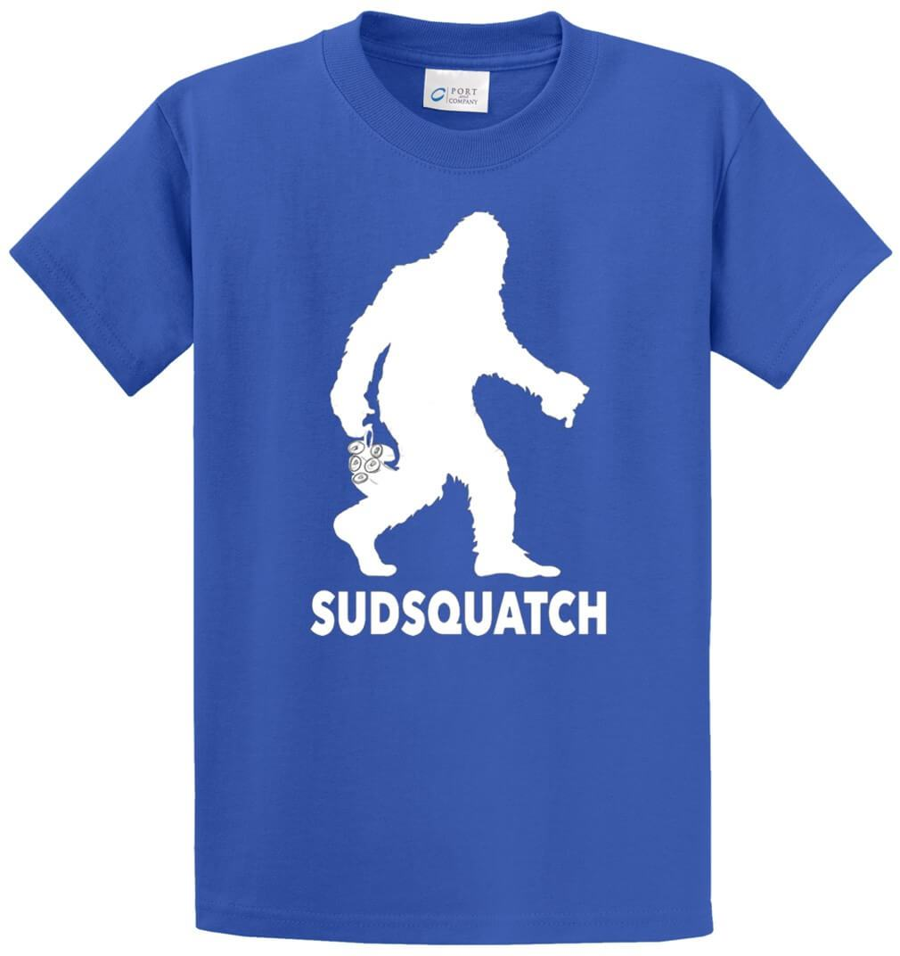 Sudsquatch Printed Tee Shirt-1