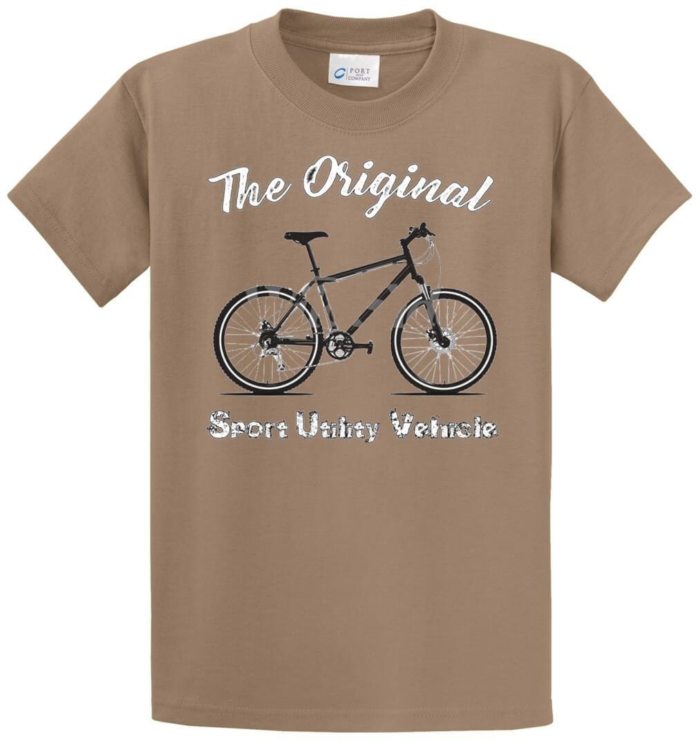 The Original Suv Bicycle Printed Tee Shirt-1