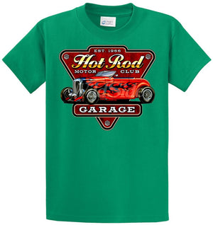 Hot Rod Motor Club Garage Printed Tee Shirt