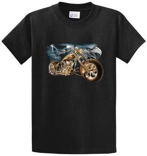 Storming Eagle Bike Printed Tee Shirt
