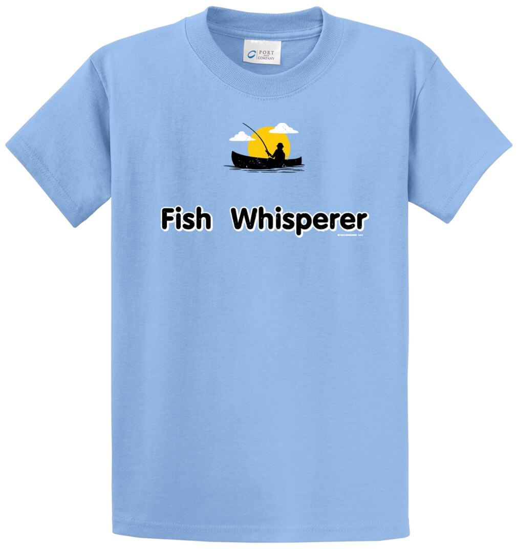 Fish Whisperer Printed Tee Shirt-1