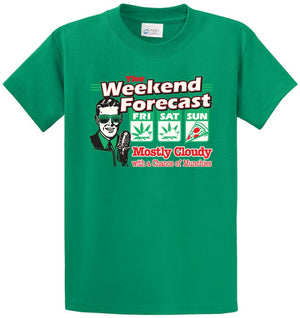 The Weekend Forecast Munchies Printed Tee Shirt