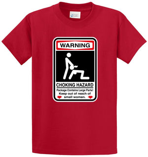 Choking Hazard Printed Tee Shirt