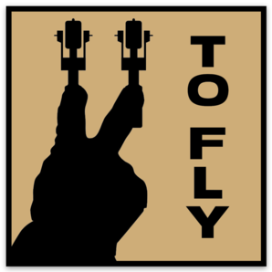Two To Fly Sticker