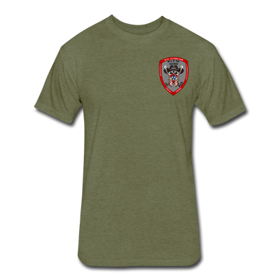 Say When T-Shirt - heather military green