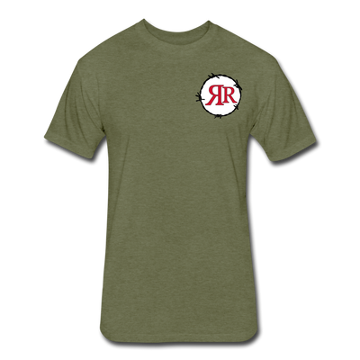 Ruthless Riders T-Shirt - heather military green