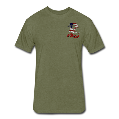 Shadow of the Eagle T-Shirt - heather military green