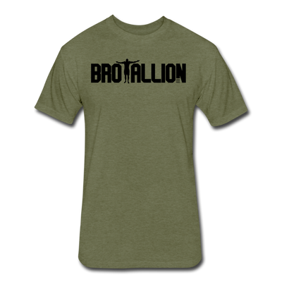 Brotallion Mantra T-Shirt - heather military green