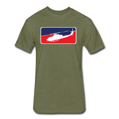 Major League Snake T-Shirt - heather military green