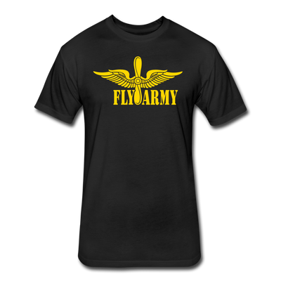 Fly Army T-Shirt - black