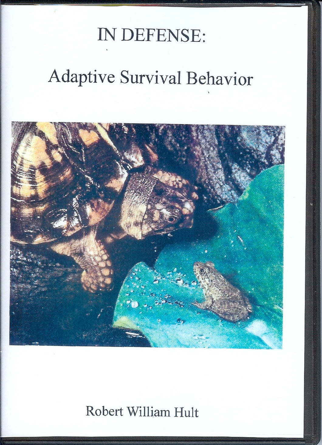 IN DEFENSE: Adaptive Survival Behavior