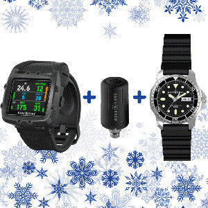 Aqualung i750 Package with Transmitter and Free Watch