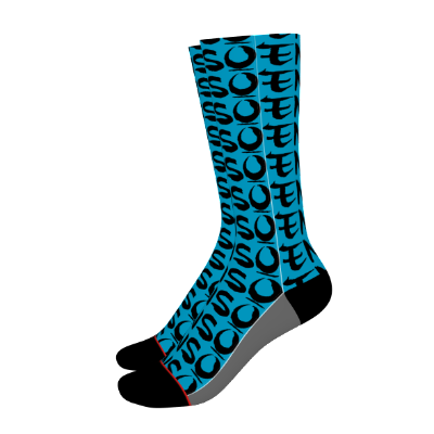 enso pacific socks left