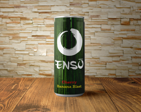enso cherry banana blast beverage