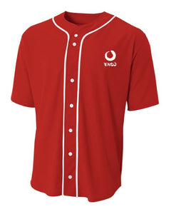enso dress shirt red