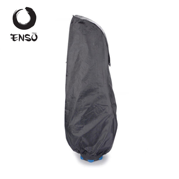 enso waterproof golf bag cover black