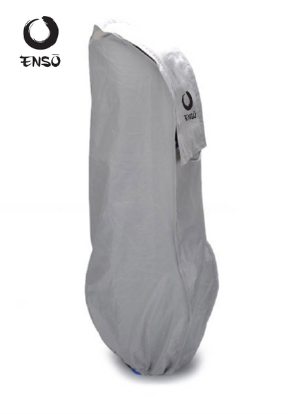 enso waterproof golf bag cover gray