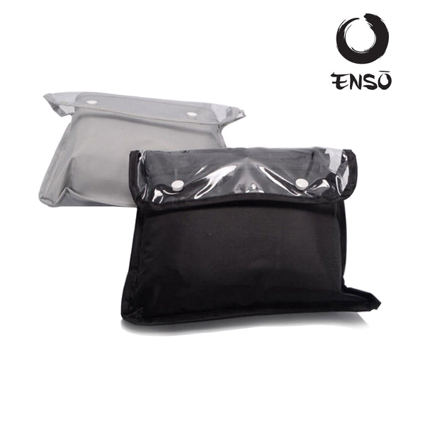 enso waterproof golf bag covers collapsed
