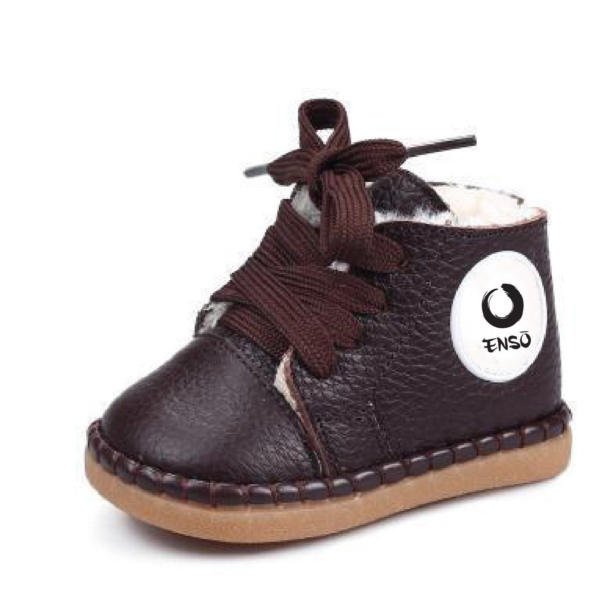 enso infant shoes boots brown