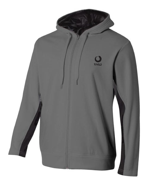 enso padded jackets graphite