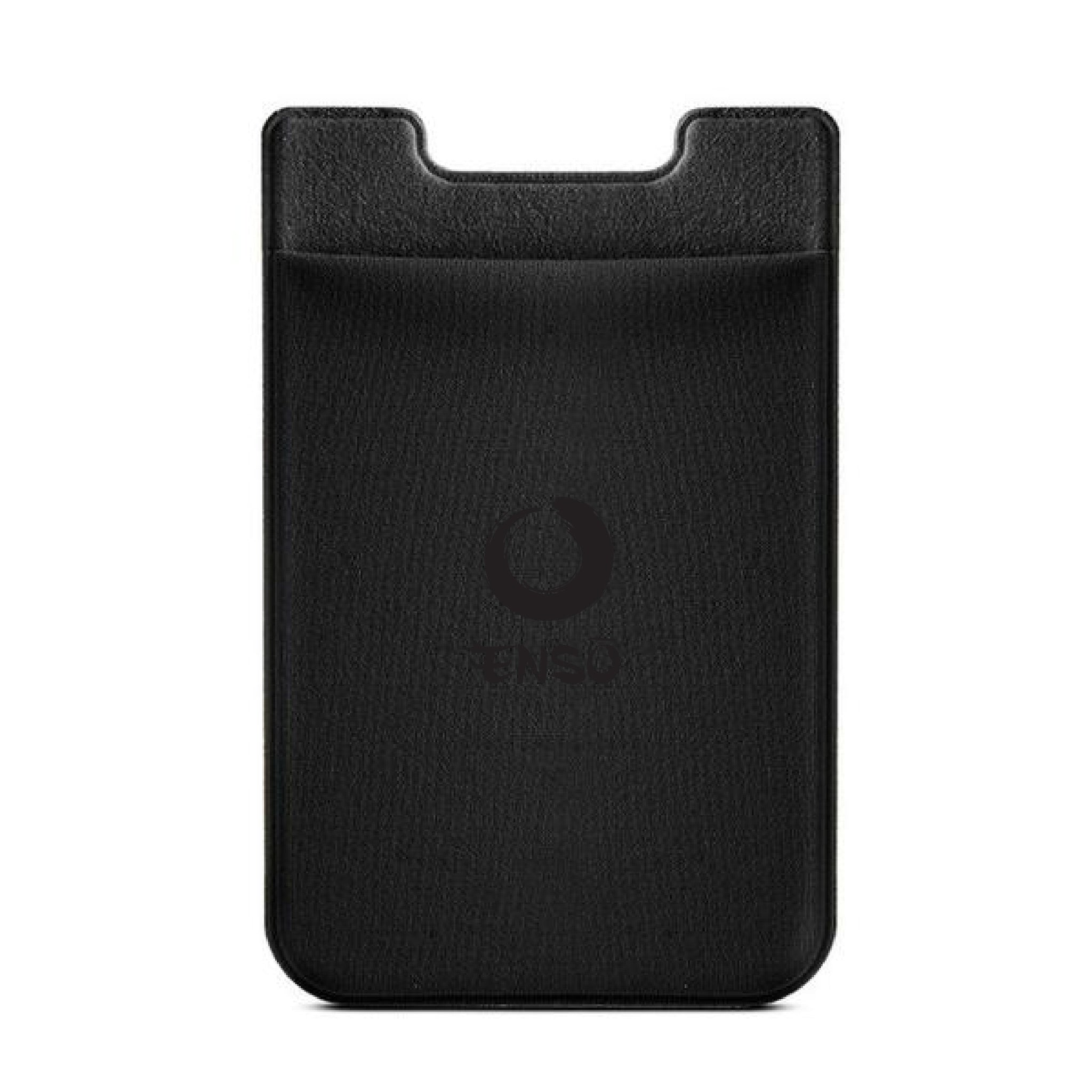 enso adhesive stick on pocket black