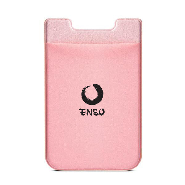 enso adhesive stick on pocket pink