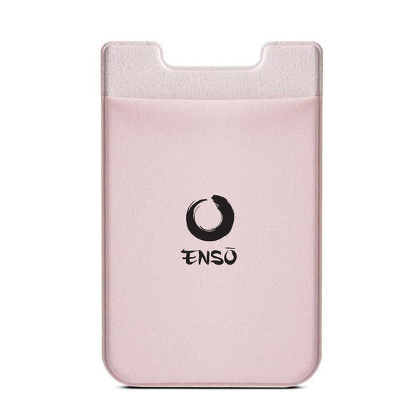 enso adhesive stick on pocket fuscia