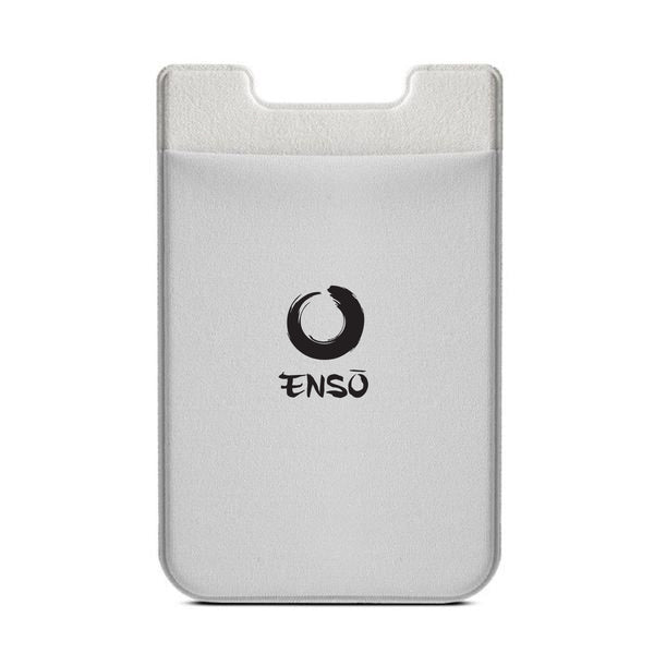 enso adhesive stick on pocket silver
