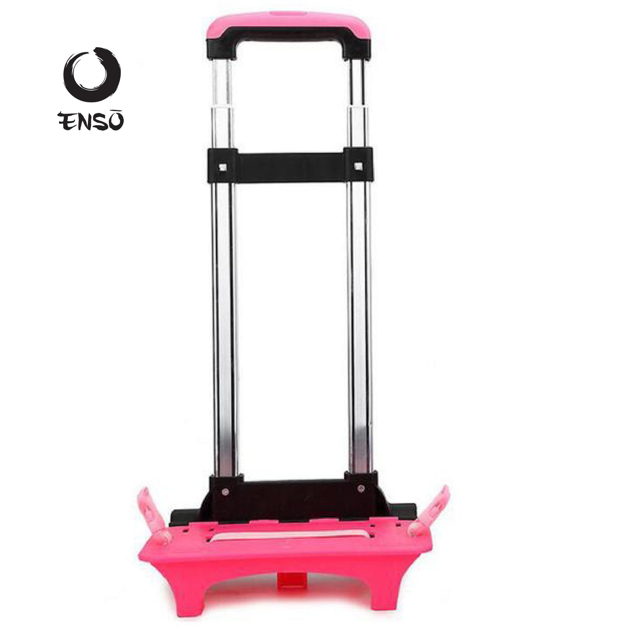enso telescoping caddy red pink