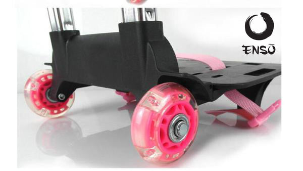 enso telescoping caddy pink rollers