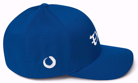 Enso Royal Blue Hat Side