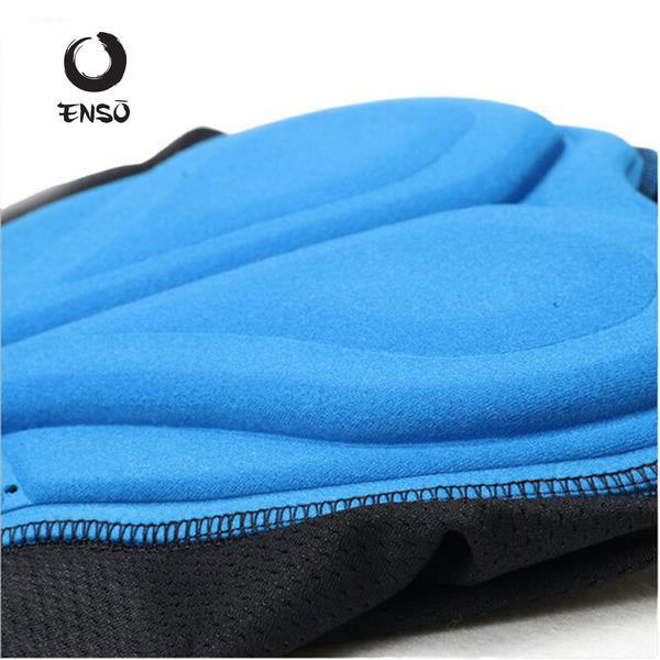 enso 3d breathable padded gel bike underwear shorts 3d pad