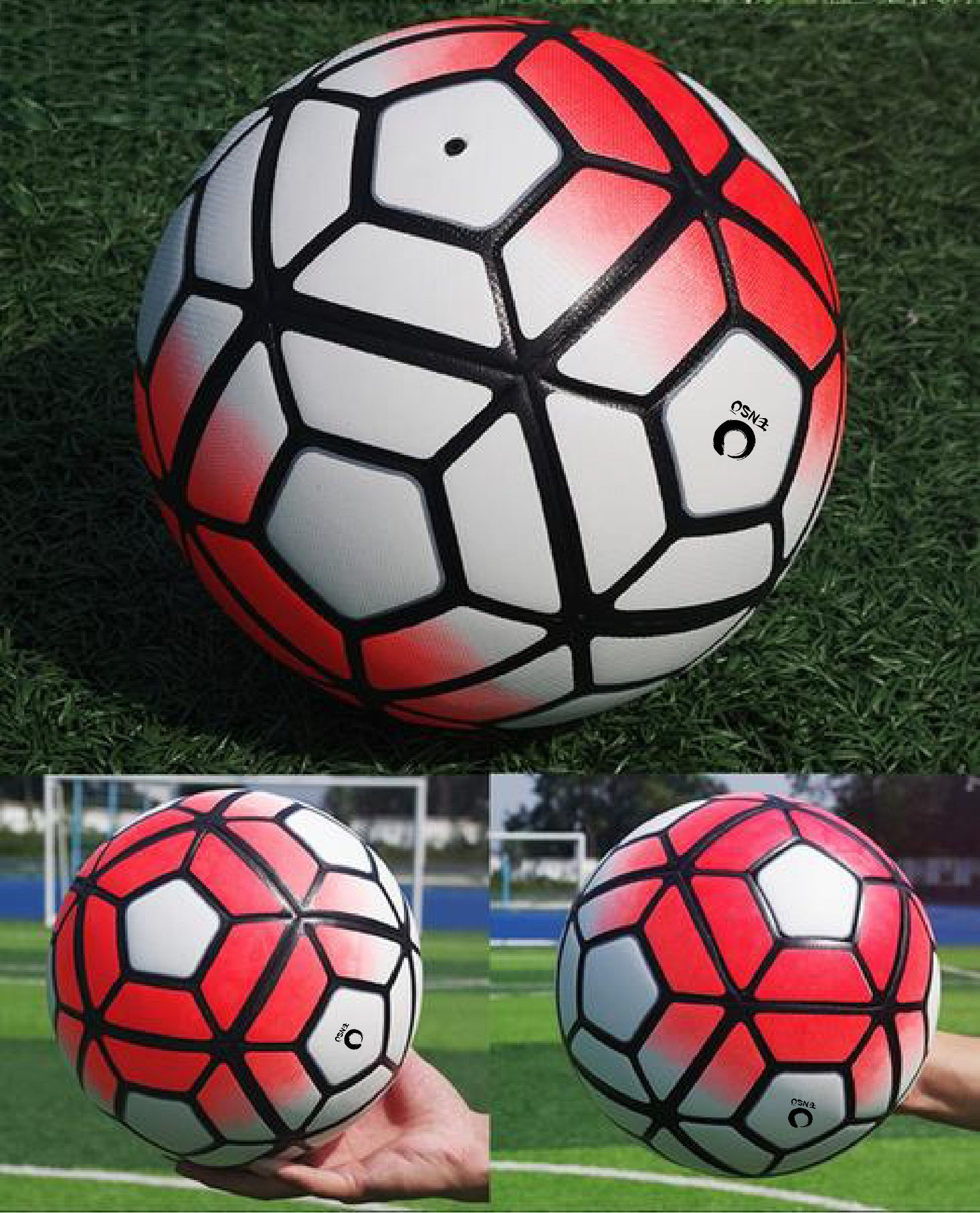 Soccer / Football Seamless Match Training Ball Size 5