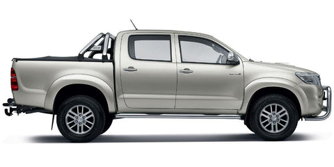 Toyota Hilux Hardtop Covers & Accessories 2005-2016