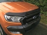 Ford Ranger 2016-2018 | EGR Dark Smoked Bonnet Guard