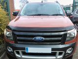 Ford Ranger Mk5 2012-2015 | EGR Dark Smoked Bonnet Guard