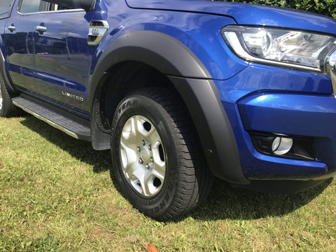 Ford Ranger 2016-2018 | EGR Smooth Wheel Arch Extensions
