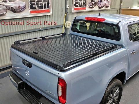 Mercedes X-Class 2017-On | EGR Aluminium Tonneau Cover