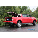 Ford Ranger 2012-On | EGR 3 Piece Tonneau | Red