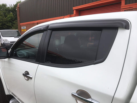 Mitsubishi L200 2015-On | EGR Quad Wind Deflector
